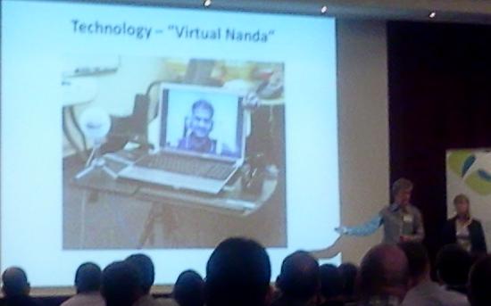 """""""Virtual Nanda"""""""